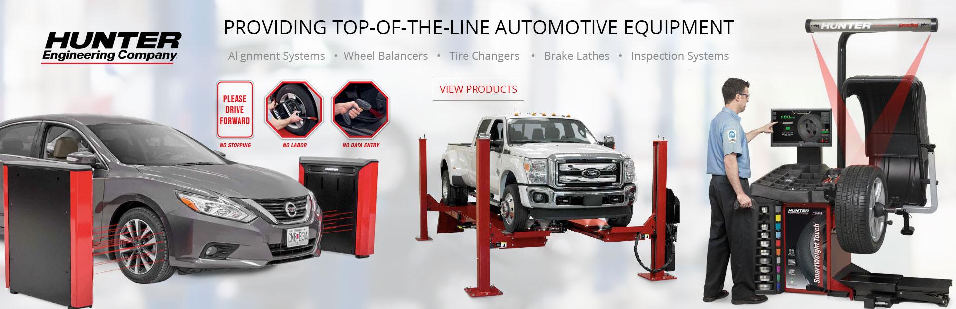 Providing Top of the line automotive equipment