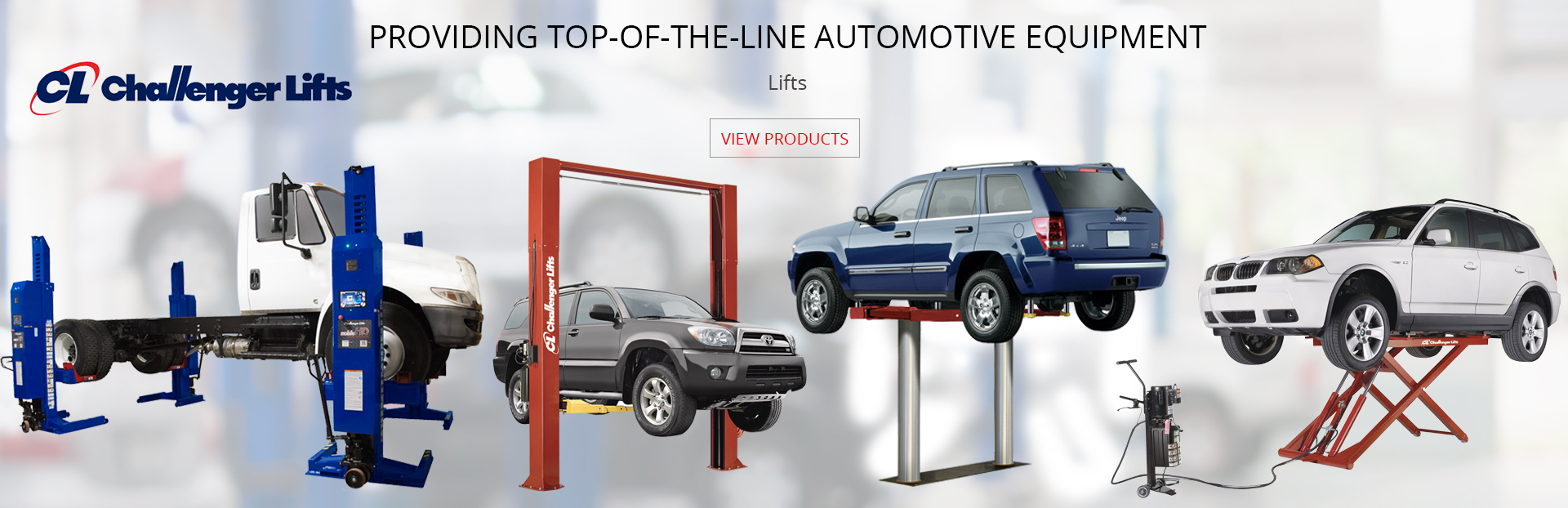 Providing Top of the line automotive equipment