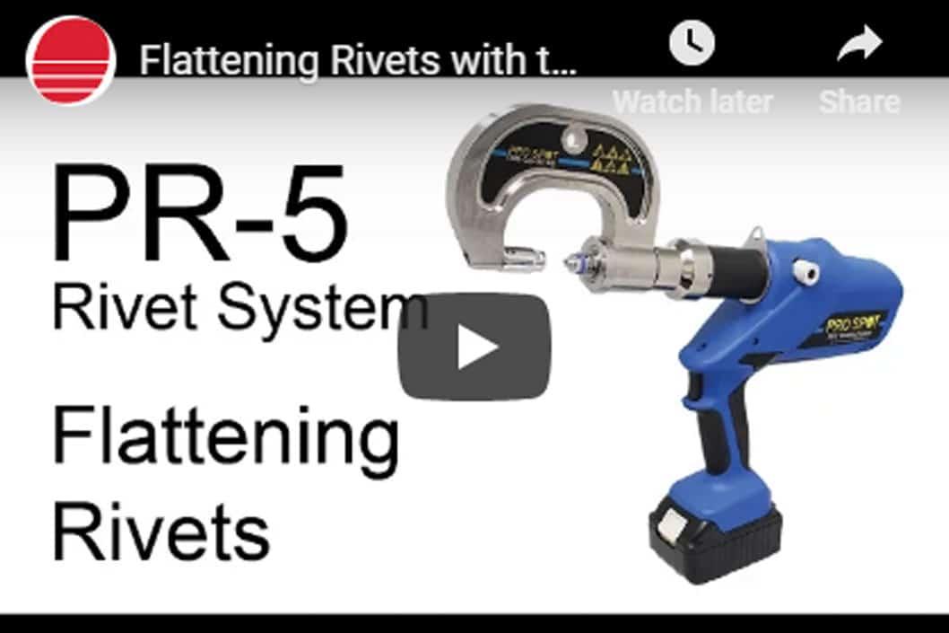 Pro Spot Flattening Rivets