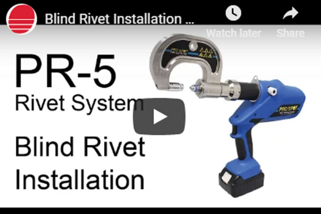 Blind Rivet Installation