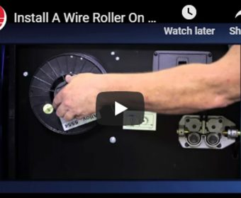 Install Wire Roller