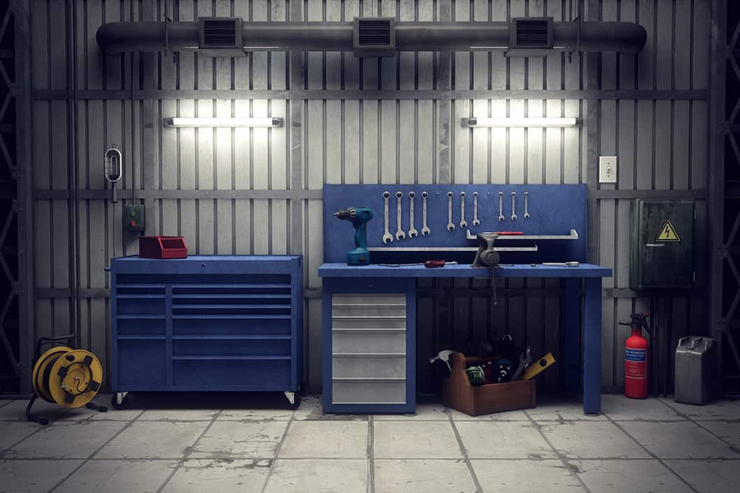 body shop tools & equipment
