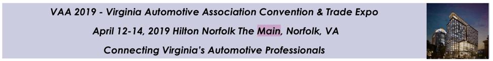 Virginia Automotive Association Mtg